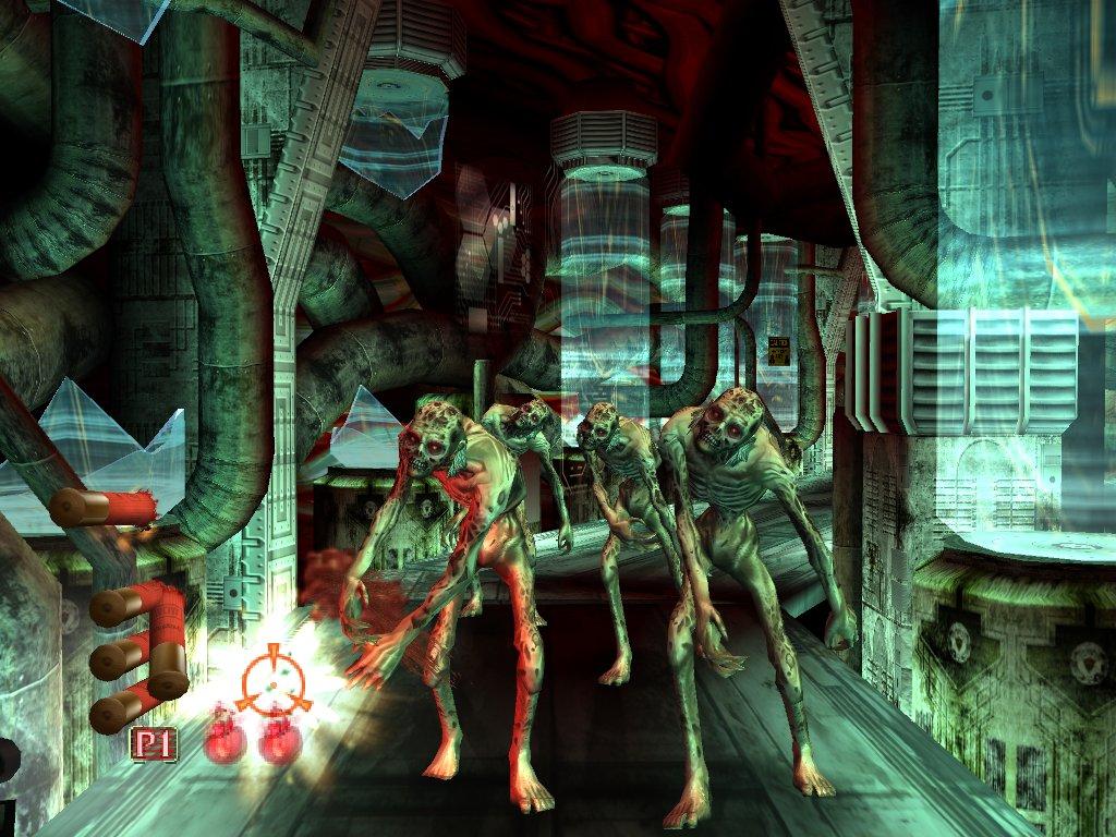 لعبة الاكشن والرعب الاكثر من رائعة : HOUSE OF THE DEAD  3