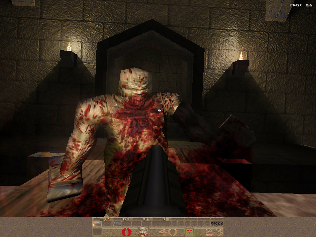 First person shooter - Quake TENEBRAE
